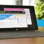 Auf dem Nachfolger von Surface RT kommt Windows 8.1 für ARM-Prozessoren zum Einsatz. (Bild: netzwelt).