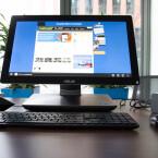 Das Display bietet Full HD-Auflösung und reagiert auf Fingereingaben. (Bild: netzwelt)