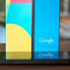 Das Nexus 5 bringt 129 Gramm auf die geeichte Redaktionswaage. Ein Gramm weniger, als Google offiziell angibt. (Bild: netzwelt)
