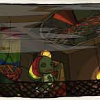 Wenn Bob Marley als Küchenschabe wiedergeboren würde... (Bild: Daedalic)