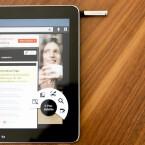 Wie beim Note 3 stellt Samsung Nutzern das Hover-Menü Air View zur Verfügung. (Bild: netzwelt)