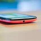 An der Oberseite des Smartphones befindet sich der Kopfhöreranschluss. (Bild: netzwelt)