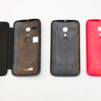 Motorola bietet für das Moto G Wechselcover, sogenannte Shells, an. (Bild: netzwelt)