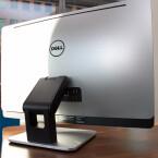 So edel wie Apples Vorzeige-AIO iMac ist die Machart des Testgeräts nicht. Das Gehäuse besteht zu großen Teilen aus Plastik. (Bild: netzwelt)