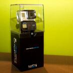 Die GoPro Hero3+ Black Edition kommt in einem hoch gewachsenen Karton daher. (Bild: netzwelt)