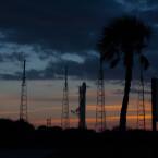Die Rakete hob von Cape Canaveral aus ab. (Bild: SpaceX)
