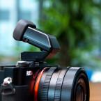Der Sony FDA-EV1MK bietet mit 2,36 Millionen Bildpunkten ein hohe Auflösung. Das Bildrauschen ist allerdings deutlich zu hoch. (Bild: netzwelt)
