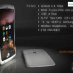 Das Konzept von GalaxyS5Info basiert auf den Gerüchten um die Ausstattung des Galaxy S5. (Bild: GalaxyS5Info.com)