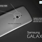 Die Hauptkamera auf der Rückseite löst mit 16 Megapixeln auf. (Bild: GalaxyS5Info.com)