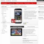 Die Bundesliga live erleben können Vodafone-Nutzer mit der Mobile TV-App des Netzbetreibers. Kostenpunkt für das Angebot 12,95 Euro im Monat, inklusive zwei Gigabyte zusätzlichem Datenvolumen. (Bild: Screenshot Vodafone.de)