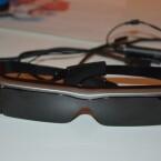 Die Brille bietet eine Auflösung von 960 x 540 Pixeln. (Bild: netzwelt)