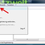 """Die Sicherung der Registrierungsdatenbank von Windows könnt ihr bei Bedarf wie folgt wieder importieren: Öffnet den Registrierungs-Editor indem ihr auf """"Start"""" klickt und in das Suchfeld """"regedit"""" eingebt. Betätigt anschließend die [Enter]-Taste. Klickt dann im Menü auf """"Datei"""" und anschließend auf """"Importieren…""""."""