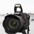 Der CMOS-Sensor der Nikon D7100 löst mit 24,2 Megapixeln auf. (Bild: netzwelt)