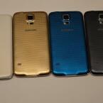 Das Galaxy S5 wird es in den Farben Weiß, Gold, Blau und Schwarz geben. (Bild: netzwelt)
