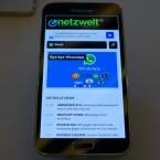 Weitere Eindrücke vom Galaxy S5 finden Sie auf unserer Webseite netzwelt.de. (Bild: netzwelt)