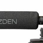 Monomikrofon Azden SGM-DLSR – 21 cm langes Richtrohr. (Bild: H-J. Kruppa)