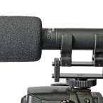Azden Stereomikrofon SMX-20 – kompakt und 12.5 cm kurz. (Bild: H-J. Kruppa)