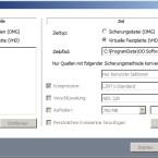 Tolle Funktion: DiskImage konvertiert das eigene OMG-Format nach VHD. (Bild: Screenshot DiskImage 8 Professional)