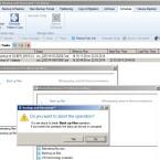 Paragon startet ein und denselben Job mehrmals - das geht gar nicht. (Bild: Screenshot Backup & Recovery 14)