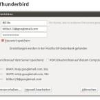 """Bei Standardanbietern wie Google, AOL oder Web.de erkennt Thunderbird meist alles korrekt und automatisch und auch die Einstellung """"IMAP"""" sollten Sie beibehalten, da die Mails bei """"POP3"""" auf Ihren Rechner vom Server verschoben werden - Sie könnten Sie also nicht mehr von anderen Geräten aus abrufen. (Bild: Screenshot)"""