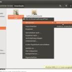 """Laden Sie nun die EXE-Datei Ihres Windows-Programms herunter - beispielsweise den Media-Player """"foobar2000"""" - und öffnen Sie diesen über das Kontextmenü mit dem """"Wine Windows-Programmstarter"""". (Bild: Screenshot)"""