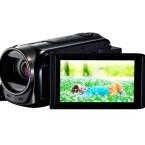Camcorder wie der Canon Legria HF R56 bieten ergonomische Handhabung und einen ruckfreien Zoom. (Bild: Canon)