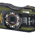 Eine Outdoor-Kamera, die auch bei Zeitlupe den Ton nicht vergisst: Pentax WG3 GPS. (Bild: Pentax)