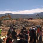 Nahe der Stadt Alamogordo in New Mexico fanden die Ausgrabungen statt. (Bild: Twitter)