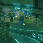 Die Antigravitation im Einsatz: und ab geht's! (Bild: Nintendo)