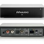 Ein Transmitter reicht für zwei Lautsprecher und kostet 250 Euro. Zahlreiche Anschlüsse finden sich auf der Rückseite. (Bild: Dynaudio)