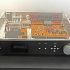 DAC-Vorstufe: Mit sieben Equalizern für alle Frequenzen ausgestattet. Ein universeller Klangmanager mit feinsten Bauteilen. (Bild: netzwelt)