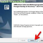 """Klicken Sie auf """"Weiter >"""", um den Installationsassistenten zu starten. (Bild: Screenshot)"""