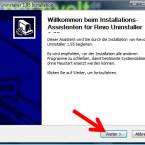 """Im Begrüßungsfenster des Installationsassistenten klicken Sie auf """"Weiter >"""". (Bild: Screenshot)"""