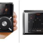 Handheld: Der FiiO X5 passt mit Handygröße gut in eine Hand. Dank 10-Band-Equalizer klanglich an den Kopfhörer anpassbar. (Bild: FiiO)