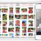 Mit iCloud Drive vernetzt Apple iOS 8 und Mac OS X stärker. Damit werden auch die Fotogalerien synchron gehalten. (Bild: Screenshot/Apple)
