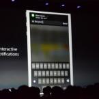 Auf E-Mails, Anrufe, SMS können Nutzer jetzt direkt aus der Benachrichtigungseiste antworten. (Bild: TheVerge)