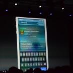 Apple erweitert die Spotlight-Suche: Jetzt kann auch nach Apps, Orten und Songs gesucht werden. (Bild: TheVerge)