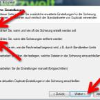 """Die Datensicherung sollte regelmäßig erfolgen. Um das automatische Backup zu konfigurieren, aktivieren Sie die Checkbox vor """"Wählen Sie, wann und wie oft die Sicherung erstellt werden soll"""". Auch die zweite Option sollten Sie markieren. Da der Speicherplatz nicht endlos ist, müssen Sie festlegen, welche veralteten Backups gelöscht werden können. (Bild: Screenshot)"""