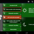 Auch die Einstellungen für die mobile Internetverbindung können Sie konfigurieren. Da unser Testgerät keinen SIM-Karten-Schacht besitzt, ist diese Funktion nicht verfügbar. (Bild: Screenshot)