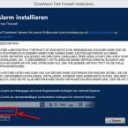 """Im nächsten Schritt bestätigen Sie die Lizenzbestimmungen. Mit einem Klick auf """"Alle Angebote überspringen"""" setzen Sie die Installation ohne Änderungen an Ihrem Internet Explorer fort. (Bild: Screenshot)"""