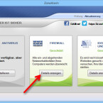 """Das Programmfenster von ZoneAlarm öffnet sich. Um zur Anwendungskontrolle zu gelangen, klicken Sie auf die Schaltfläche """"Details anzeigen"""". (Bild: Screenshot)"""