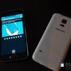 In den Home-Button des Galaxy S5 mini ist ein Fingerabdruckscanner integriert. (Bild: SamMobile)