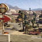 Die Straßen in GTA 5 für die PS4 sind stärker befahren als bei PS3 und Xbox 360. (Bild: Screenshot YouTube/Sony)