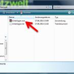 Haben Sie ein selbstextrahierendes Archiv erstellt, so finden Sie im Ausgabeverzeichnis eine EXE-Datei. Diese kann der Empfänger mit einem Doppelklick entpacken, ohne WinRAR installieren zu müssen. (Bild: Screenshot)