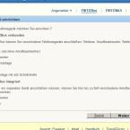 Im nächsten Schritt wählen Sie den internen Anrufbeantworter der Fritz!Box als Gerät.  (Bild: Screenshot Fritz!Box)