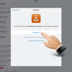 """Bestätigen Sie zunächst, dass Dropbox auf Ihre Daten zugreifen darf. Das Laden der Dateien kann je nach Umfang eine Weile dauern. Warten Sie diesen Vorgang ab. Bei der erstmaligen Anmeldung müssen Sie über Login Ihre Zugangsdaten eingeben, falls Sie die Dropbox-App nicht aktiv auf Ihrem Gerät nutzen. Ansonsten erfolgt der Anmeldevorgang automatisch, nachdem Sie auf """"Login"""" getippt haben. (Bild: Screenshot / VLC für iOS)"""