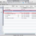 """Zusätzlich zur Originaldatei ist der Song in iTunes ein zweites Mal zu sehen. Während der Konvertierung ist der zweite Eintrag ausgegraut und in der Spalte """"Dauer"""" steht """"Unvollständig"""". Warten Sie, bis die Umwandlung abgeschlossen ist. (Bild: Screenshot/Apple iTunes)"""