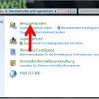 """Unter """"Systemsteuerung"""" → """"Benutzerkonten und Jugendschutz"""" finden Sie die Einstellungen für alle Benutzer des Computers. Klicken Sie """"Benutzerkonten"""" an, um die Optionen zu öffnen. (Bild: Screenshot/Windows)"""