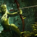 Eithne von Brokilon ist die Königin der Dryaden und trifft ihre Gegner mitten ins Herz. (Bild: Screenshot CD Projekt RED)
