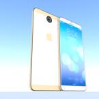 Das 5,7 Zoll große iPhone 6 erstrahlt im Entwurf von Dani Yako auch in Weiß. (Bild: Dani Yako/concept-phones.com)